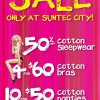 La Senza Feel the Fever Sale at Suntec