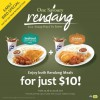 Long John Silver Rendang Meal Deal