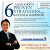 Free Class to Adam Khoo's 6 Proven Strategies for Success & Happiness
