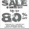Royal Sporting House Warehouse Sale
