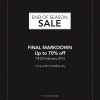 RAOUL End Season Sale