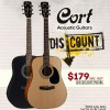 Exclusive Cort Acoustic Guitar Deal For the March Holidays