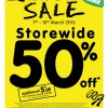 ELC Great World City 50% Sale