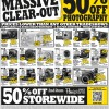 Courts Massive Photography Clearance Sale