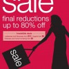 Marks & Spencer Final Reductions