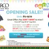 eMUMs Opening Sale @ Parco Marina Bay, 50% Off Selected Items