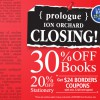 Prologue @ ION Orchard Closing Down Sale, 30% Off Books