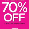 Camomilla Milano Fever Sale, 70-80% Discounts Off Selected Items