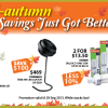 Home-Fix Mid-Autumn Savings Up To $200, Vornado Fan & Clothes Dryer Set For Less