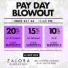Zalora Pay Day Blowout Sale October 2013, 20% Discount When You Spend $120