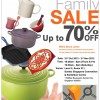 Le Creuset Family Sale 2013: Up To 70% Discount Pots, Pans & Kitchenware