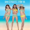 Cotton On New Season Swimwear, 2 For $35 Swim Separates Online Sale October 2013