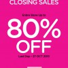 Camomilla Milano Closing Down Sale, Up To 80% Discounts On All Items