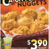 Popeyes New Pepper Cajun Nuggets + Nestea Green Tea For $3.90 Only