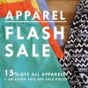 Rockstar By Soon Lee 15% Off All Apparels Storewide Flash Sale @ Orchard Cineleisure