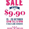 Green Poppies Warehouse Sale @ Haji Lane, All Items From $9.90