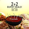 [BOGO] Seoul Garden 2+2 Buffet Deals On Mondays To Thursdays From 5-7pm @ Clementi Mall Only