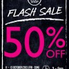 The Body Shop 3 – 6pm Flash Sale 50% Discount Off Selected Items