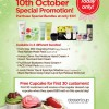 THEFACESHOP 10th October Special Promotion, Skincare Bundles @ $10 Only