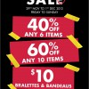 La Senza Black Friday Weekend Sale 2013: 60% Discount When You Buy 10 Pieces