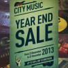City Music Year End Sale 2013, Massive Savings Up To 50% On Pianos, Guitars, Accessories & More
