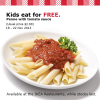 IKEA Singapore Free Penne Pasta For Kids 12 & Below November 2013 Promotion
