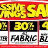 Spotlight Massive Savings Sale November 2013: Up To 50% Savings On Beddings, Fabric & Blinds