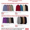 Uniqlo Festive Season Sale 2013: Men's Shirts & Jackets + Women's Tees & Cardigans On Discounts