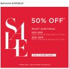 Banana Republic Year End Sale 2013: Enjoy 50% Off + Additional Discounts When You Buy More