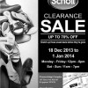 Scholl Clearance Sale 2013/2014 @ Chancerlodge Complex: Up To 70% Discounts On Footwear