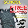 Kappa Back To School Promotion: Free Backpack With Purchase Of Any Kappa Shoes