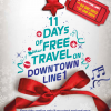 Downtown Line Free MRT Rides For 11 Days, Travel For Free On 6 DTL Stations
