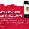 Send A Starbucks Card eGift This Festive Season And Stand A Chance To Double The Value Promotion