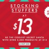 "Zalora ""Stocking Stuffers"" Christmas Fashion Promotion: Over 2,000 Selected Items @ $13 On Friday The Thirteenth"