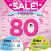 Watsons Mega Christmas Sale 2013 @ Suntec Convention: Up To 80% Off Favourite Brands