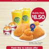 KFC Bedok Mall Opening Special: $8.50 Buddy Meal, Flash To Redeem Offer
