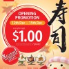 Sushi Express Opening Special Westgate Mall: Everything @ $1 Per Plate