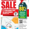 Yonex Warehouse Sale 2013 @ Jalan Pemimpin: Up To 80% Off Badminton & Tennis Gear & Accessories