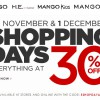 Mango Shopping Days: Everything At 30% Off Men, Women & Kids Apparels & Accessories For 2 Days Only