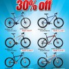 Rodalink 30% Off Polygon Cozmic Mountain Bicycles @ Jurong Kechil Outlet January 2014 Promotion