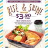Eggs & Berries Grilled Chipolata Sausage Breakfast Set For Only $3.90, Coffee/Tea Included