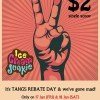 Ice Cream Junkie $2 Per Scoop Offer @ TANGS Orchard 12% Rebate Day Promotion