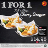 [BOGO] Manhattan Fish Market 1-For-1 Fish 'n Chips Cherry Snapper January 2014 Promotion