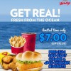 Wendy's Premium Cod Fillet Combo + Nuggets $7.00 Limited Time Offer January 2014 Promotion