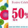 SENSE Fashion Festive Celebration Up To 50% Off Starts Now