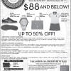 Takashimaya $88 & Below Post Chinese New Year Sale February 2014