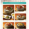 Paradise Inn Stone Pot Individual Set Meal With Soup & 2 Sides For $10.80 Only Promotion