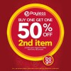 Payless Shoesource 50% Off On Second Pair Footwear March 2014 Promotion