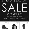 North Face End Of Season Sale @ Takashimaya: Up To 40% Off Footwear, Jackets & More