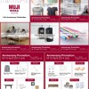 MUJI Singapore 11th Anniversary Sale Promotion 2014: Great Offers & Discounts Storewide